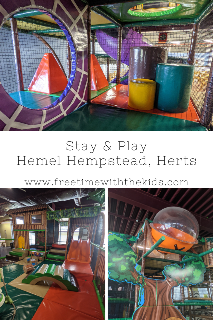 Stay & Play Hemel Hempstead review   soft play in Hertfordshire   Review by Free Time with the Kids