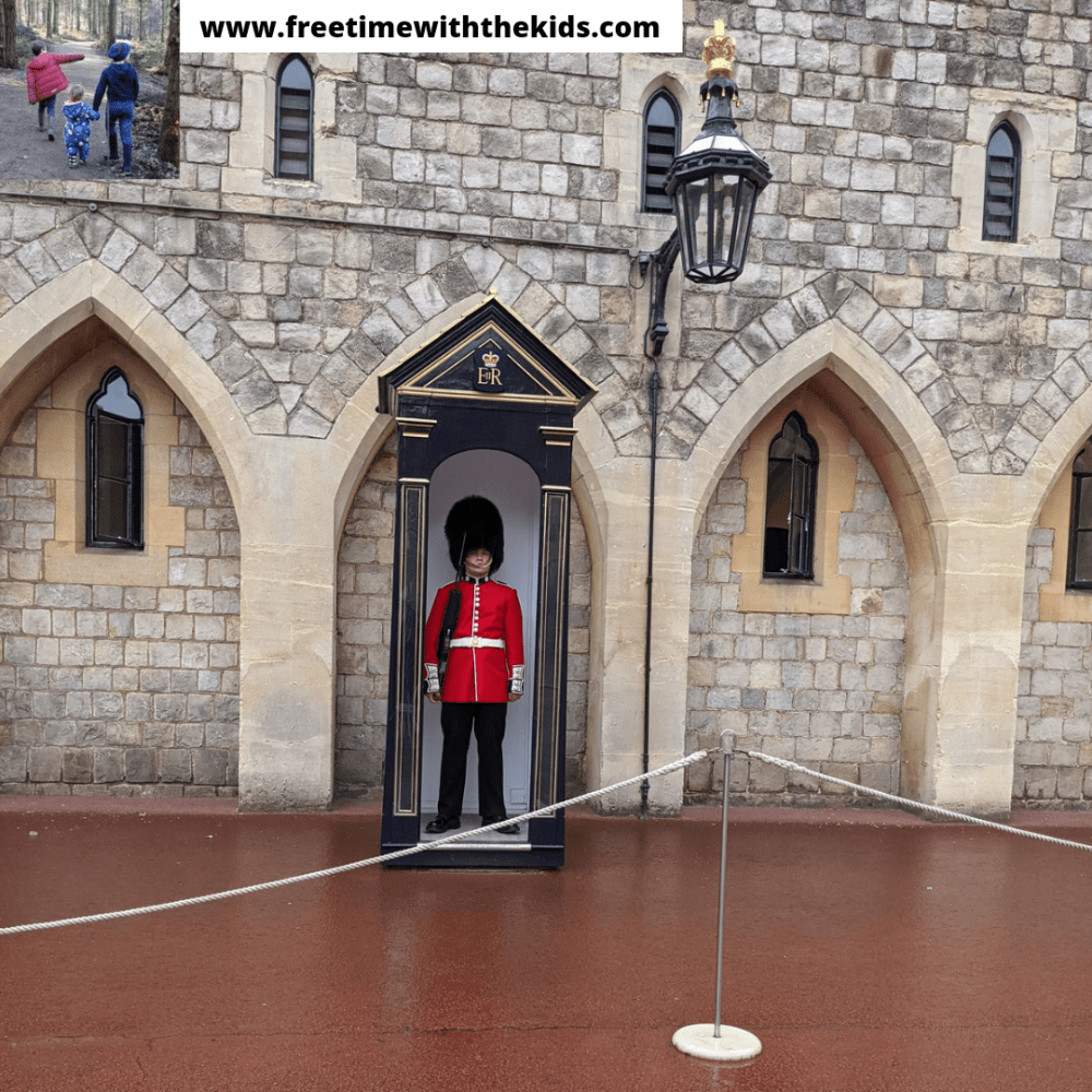 Windsor Castle Review, Berkshire | Free Time with the Kids | Family days out in the UK