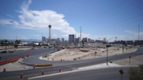 Las Vegas! Interstate 15! Jake Brake Sound Effect
