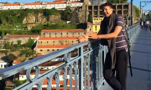 Dom Luís I Bridge Porto Portugal