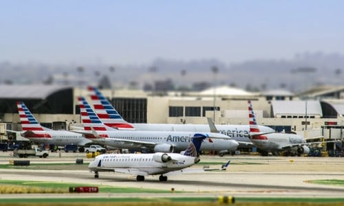 Airport Sound Effects Library - Los Angeles