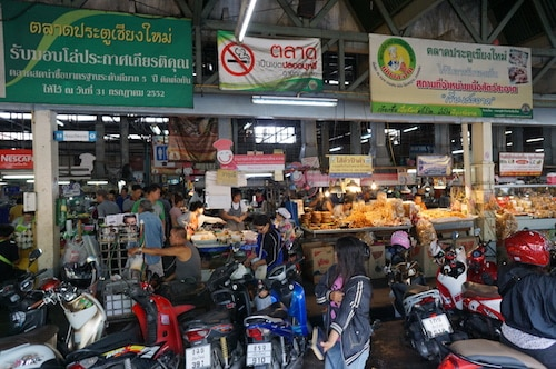 Asia Market Crowds Sound Effects