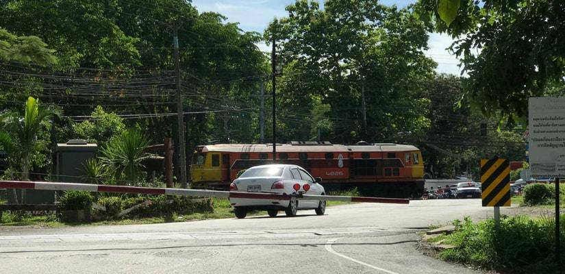 Railway Cross Sound Effects Thailand