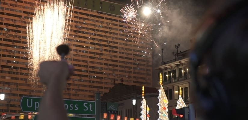 Free Fireworks Sound Effects Chinatown