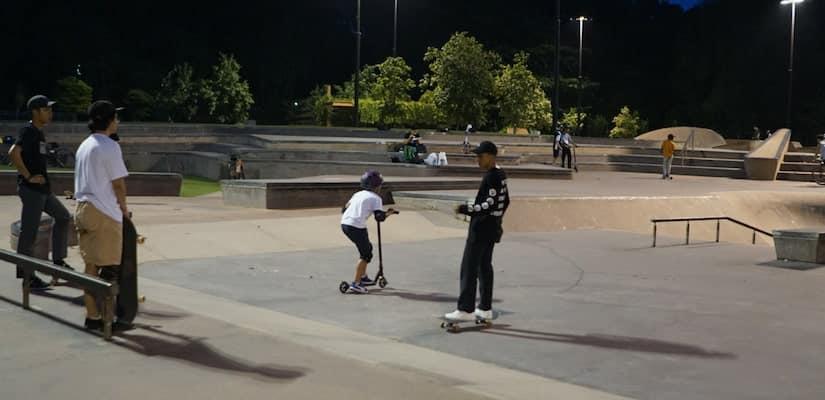 Skatepark Sound Effects