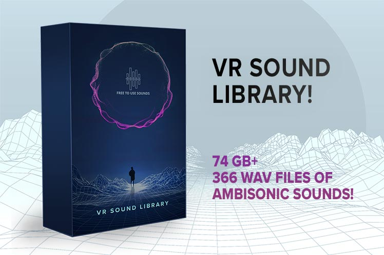 VR Ambisonic Sound Library