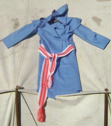 Blue capote for sale