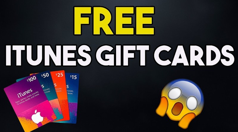 Free iTunes Gift Card – Free iTunes Codes – How to Get Free