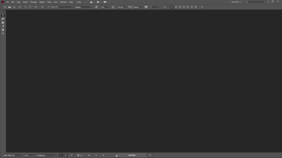 Adobe InCopy Work Space