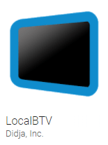 LocalBTV logo from the Google app store