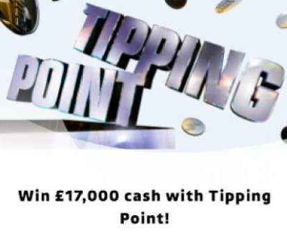Tipping Point Prize £17,000