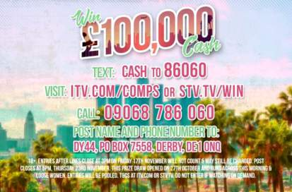 Loose Women Competition £100,000