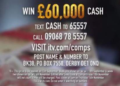 Lorraine £60,000 Christmas Competition
