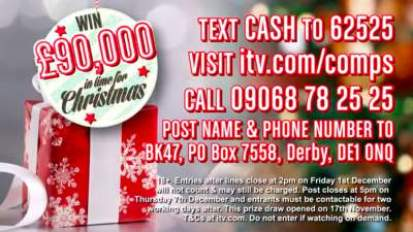 Lorraine £90,000 competition