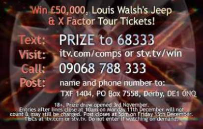 X Factor Jeep Competition