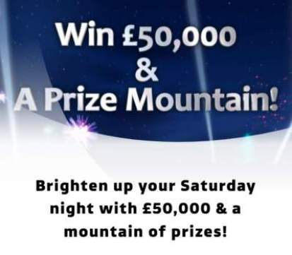 Saturday Night Takeaway Competition Prize 2018
