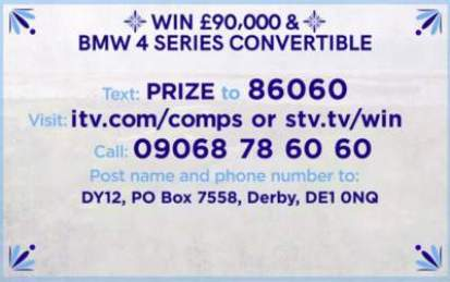 Loose Women BMW competition £90,000