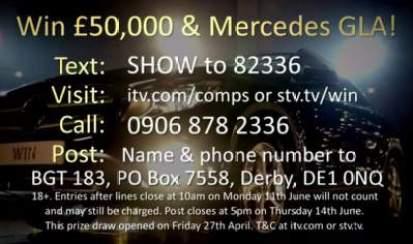 Britain's Got Talent Mercedes Competition