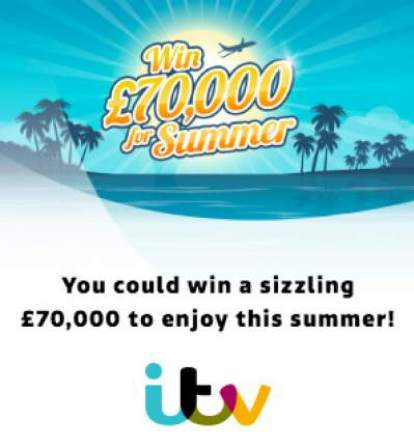 ITV £70,000 Summer Competition 2018