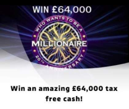 Who Wants To Be a Millionaire? Competition 2019