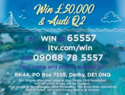 Lorraine Audi prize competition ITV