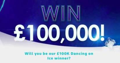 Dancing on Ice Competition Prize 2019 ITV