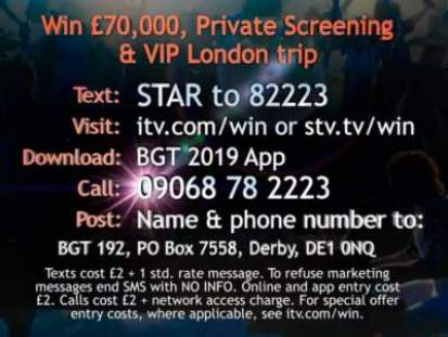 Britain's Got Talent Rocketman Competition ITV
