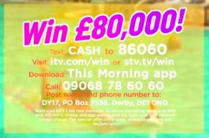 Loose Women £80k for May competition ITV