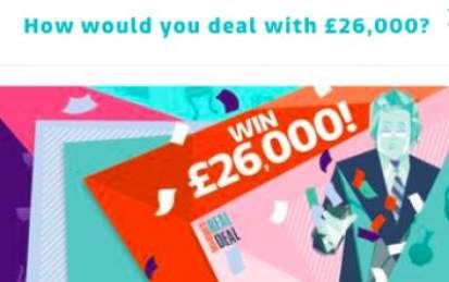 Dickinson's Real Deal Prize £26,000 ITV Entry