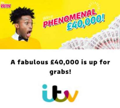 ITV Prize £40,000 2019