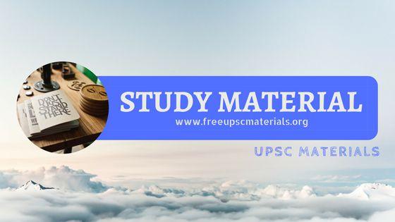 Optionals - Upsc Materials