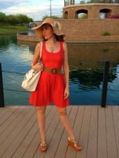 Coral Dress 11