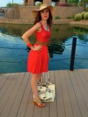 Coral Dress 9