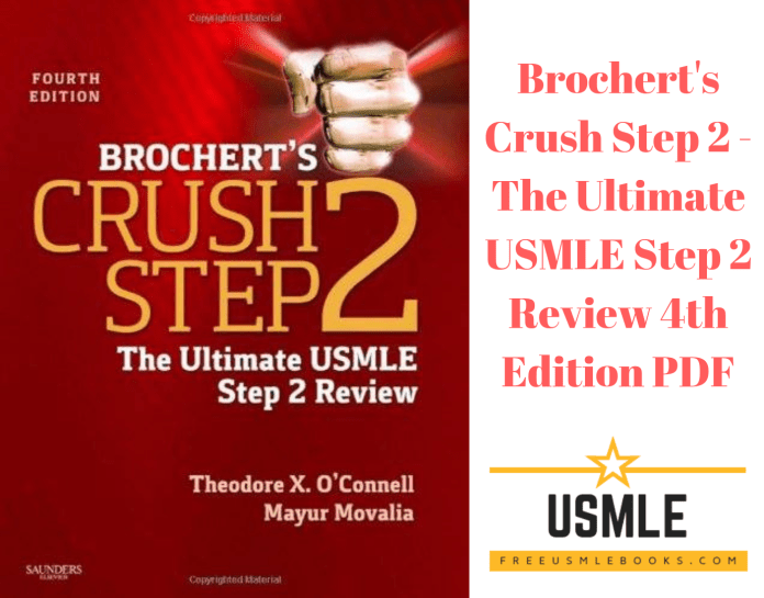 Download Brochert's Crush Step 2 - The Ultimate USMLE Step 2 Review 4th Edition PDF Free