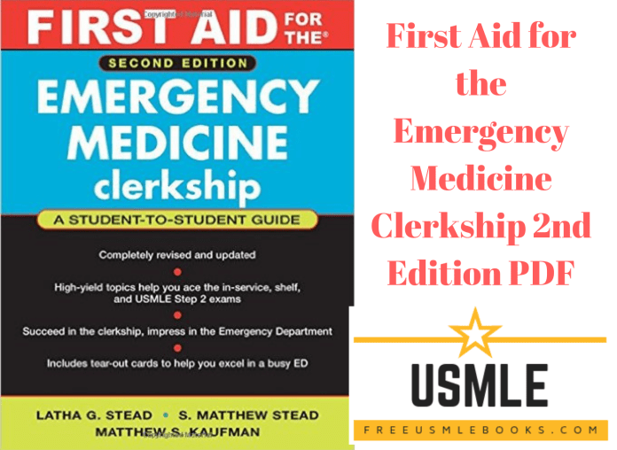 Download First Aid for the Emergency Medicine Clerkship 2nd Edition PDF Free