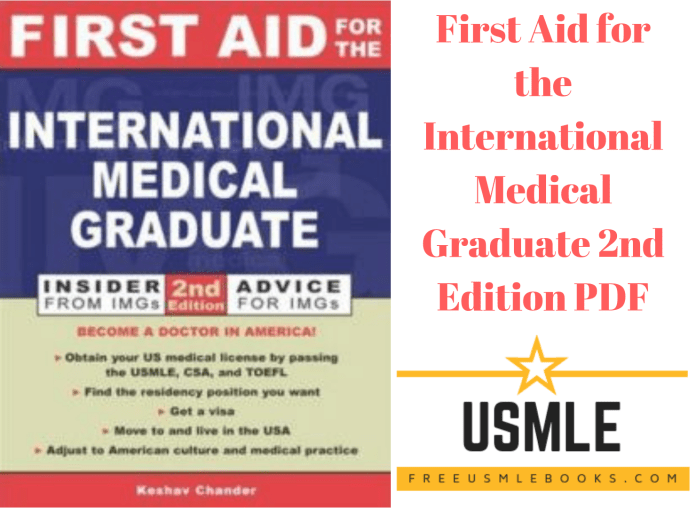 Download First Aid for the International Medical Graduate 2nd Edition PDF Free