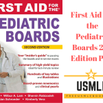 Download First Aid for the Pediatric Boards 2nd Edition PDF Free