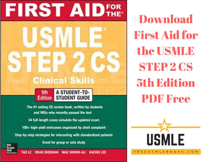Download First Aid for the USMLE STEP 2 CS 5th Edition PDF Free
