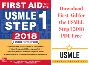 Download First Aid for the USMLE Step 1 2018 PDF Free