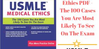Download USMLE Medical Ethics PDF Free