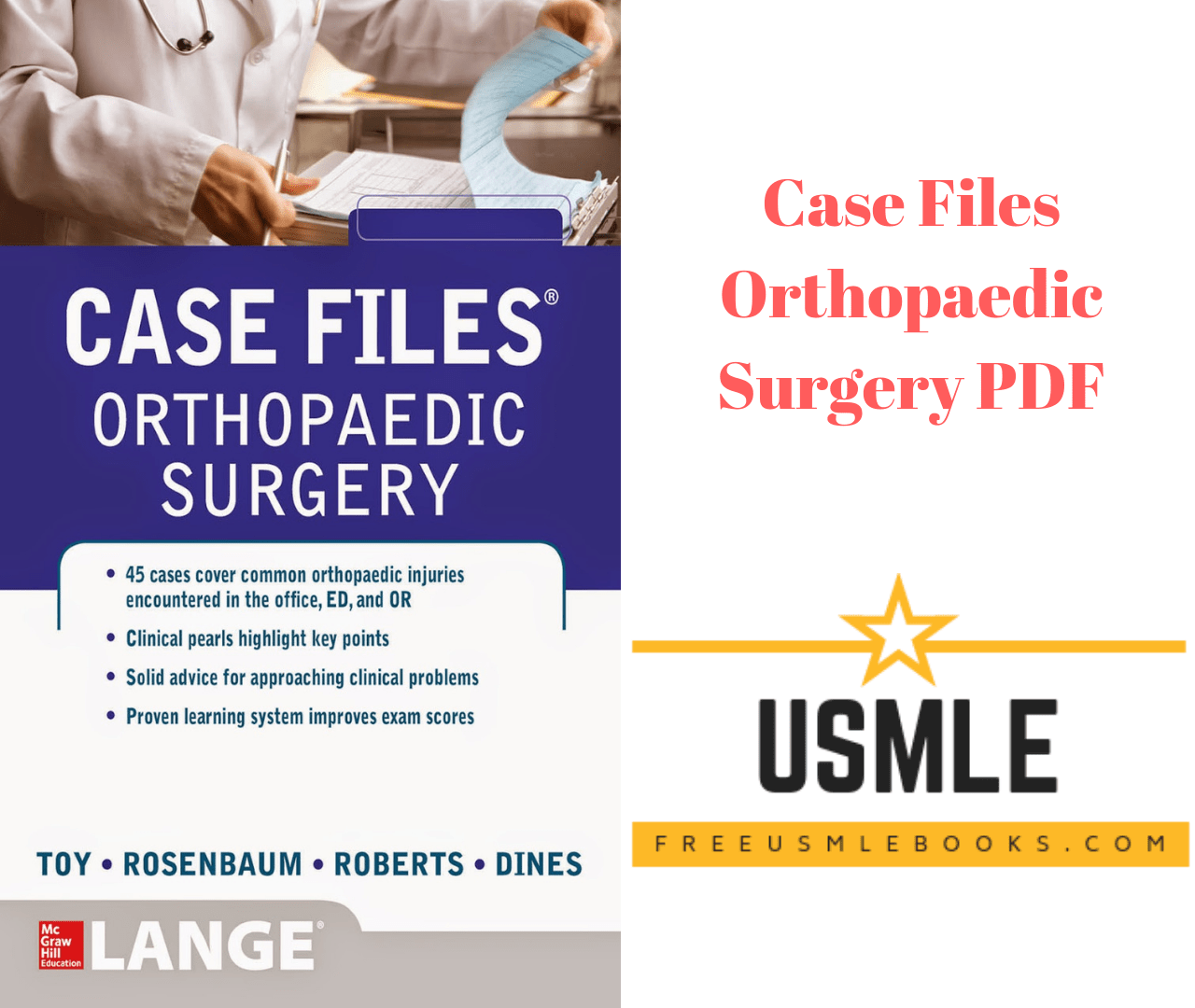 Download Case Files Orthopaedic Surgery PDF Free [Direct Link]