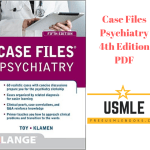Download Case Files Psychiatry 4th Edition PDF Free