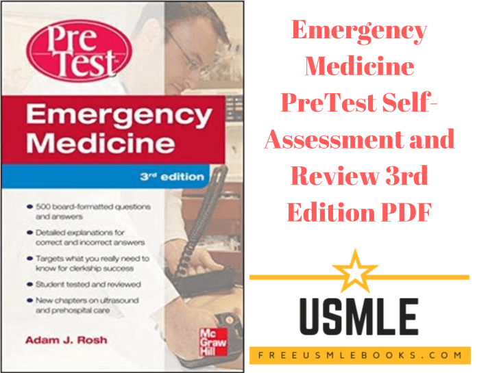 Download Emergency Medicine PreTest Self-Assessment and Review 3rd Edition PDF Free