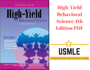 Download High-Yield Behavioral Science 4th Edition PDF Free