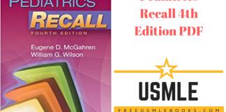 Download Pediatrics Recall 4th Edition PDF Free