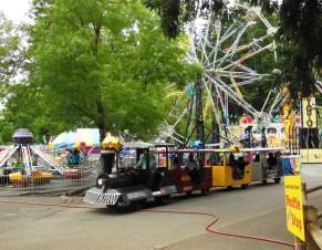 MVD's traditional Kiddie Train