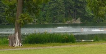 Mini hydroplane races