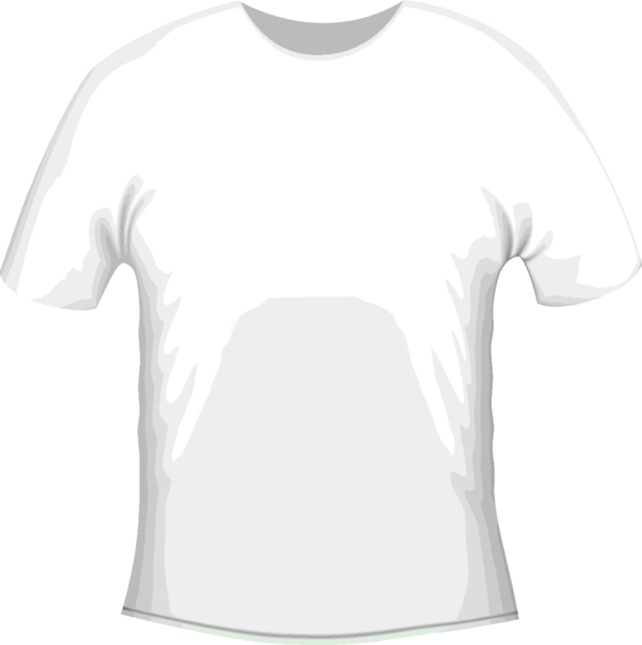 White Vector T Shirt Template Freevectors