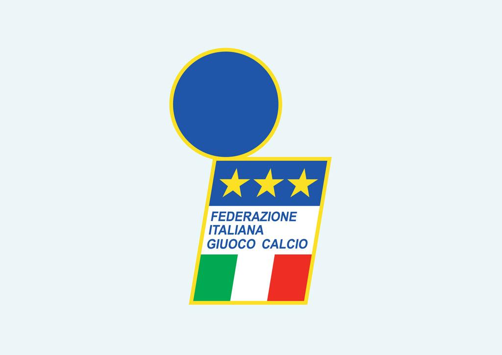 Federazione Italiana Giuoco Calcio Vector Art & Graphics