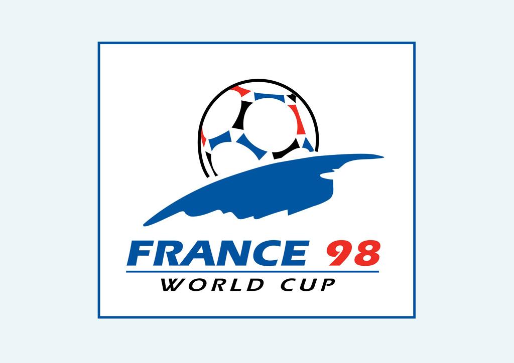 1998 Fifa World Cup Logo Vector Art & Graphics